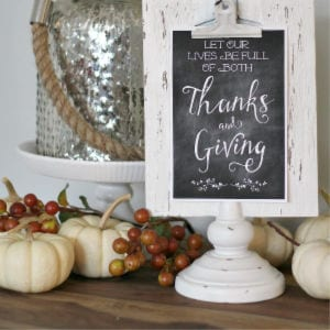 Thanksgiving Tablescape Ideas, shared by Clean & Scentsible
