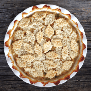 Turkey Pot Pie, shared by A Pretty Life