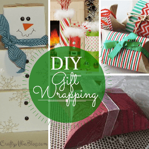 Unique Gift Wrapping Ideas, shared by Crafty Allie