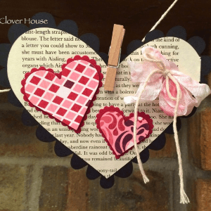 Valentine's Day Heart Banner, shared by Clover House