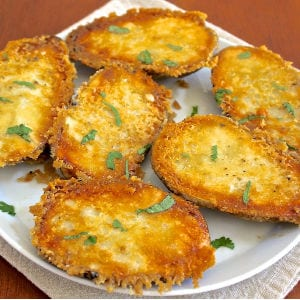 Parmesan Crusted Potatoes shared by Fountain Avenue Kitchen
