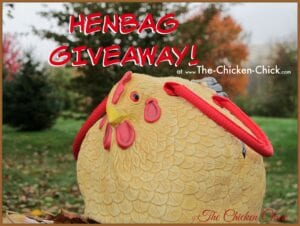 Henbag Chicken Purse