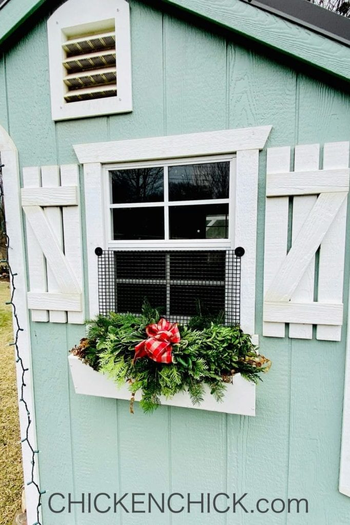 The Chicken Chick's Essential Coop® window box view